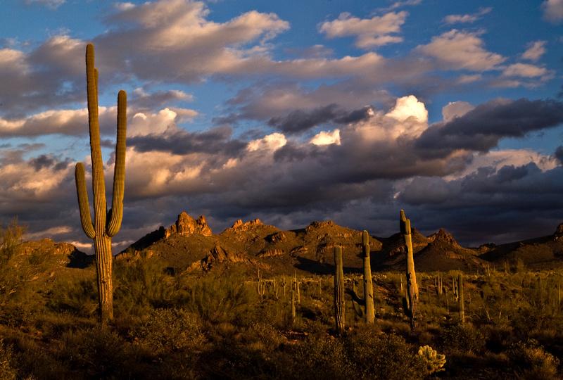 wallpaper sunset mountain arizona - photo #15